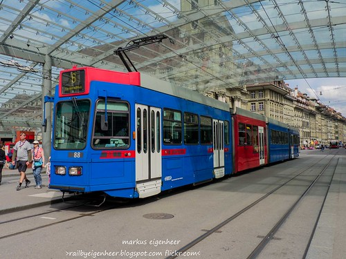 Bernmobil Tram Schindler/FFA Be 4/10 88