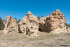 Perforated Sandstone (kevin-palmer) Tags: custernationalforest montana ashland sandstone rockformation pillar march spring sunny blue sky nikond750 tamron2470mmf28