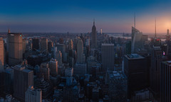 New York from the Top of The Rock (Toni_pb) Tags: newyork topoftherock ilce7rm3 ilce7riii sony sunset gmaster sony1635f28gm cityscape city panorama panoramica pano panoramic