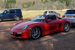 Open Boxster (syf22) Tags: pcgbr2 pcgb r2 scottish north car automobile auto autocar automotor vehicle motorcar motor motorised porsche porscheclubgb porscheclubgbregion2 madeingermany germanmade flatsix flat6 rearengine 981 porscheboxster boxster guardsred
