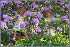 Tivi und Anne-Moni ... (Kindergartenkinder 2018) Tags: gruga grugapark essen azaleen kindergartenkinder tivi annemoni rhododendron annette himstedt garten