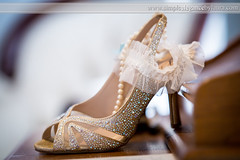 Sparkly Wedding Shoes (Laura K Bellamy) Tags: wedding weddings details shoes accessories