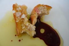 oil and vinegar (vshorty) Tags: macromondays condiments glutenfreebread oilandvinegar bread salt
