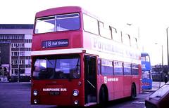 Slide 117-75 (Steve Guess) Tags: southampton hants hampshire england gb uk bus ouc55r hampshirebus dms london transport daimler fleetline