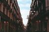 Life Between Buildings: Barcelona III (CristinaDiaconu23) Tags: analog analogue film minolta lomographycolor100 lomography 35mm spain españa barcelona street streetphotography light city building