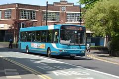 Arriva VDL SB200 3741 YJ57AZU - Walsall (dwb transport photos) Tags: arriva vdl wright commander bus 3741 yj57azu walsall