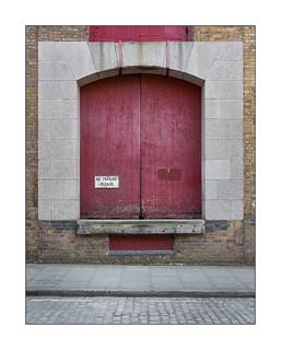 Victorian Warehouse, East London, England.
