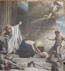 Pantheon: painting of the martyrdom of St Denis (John Steedman) Tags: pantheon panthéon フランス france frankreich frankrijk francia parigi parijs 法国 パリ 巴黎