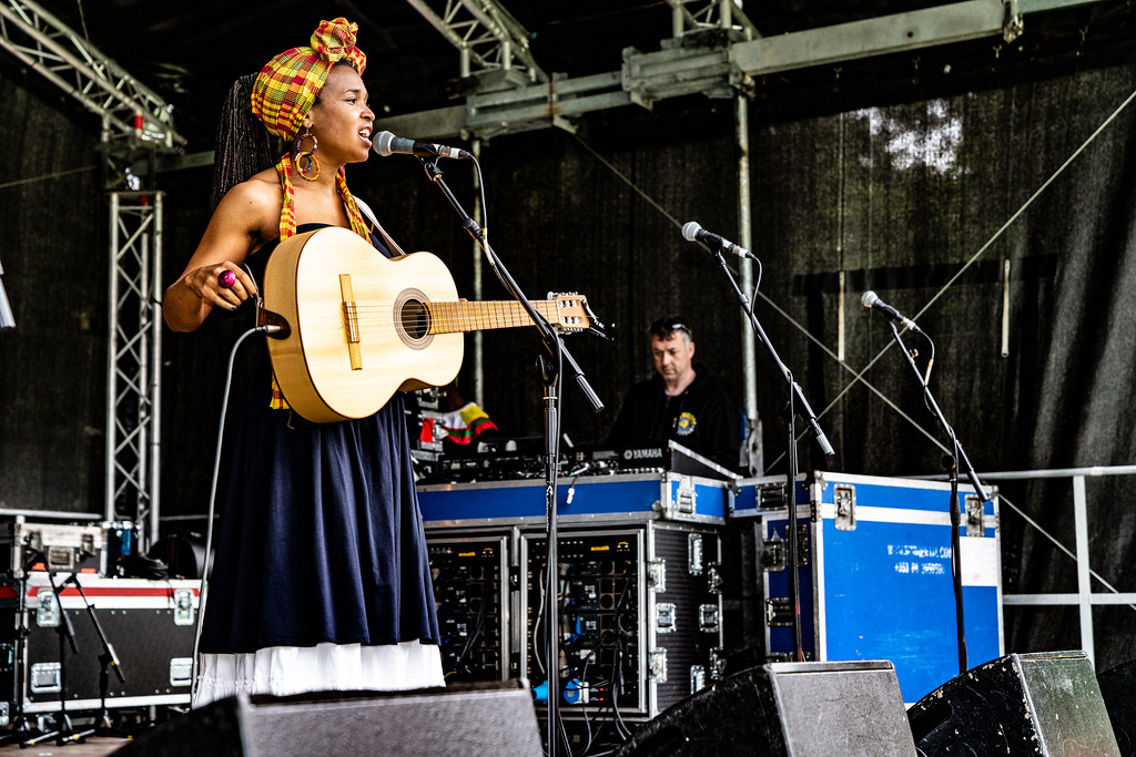 INES KHAI FROM GUADELOUPE [AFRICA DAY 2018 IN DUBLIN]-140491