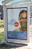 Smallish but on the big side? (Can Pac Swire) Tags: toronto ontario canada canadian city urban banking bankology bank 2018aimg0044 bmo bankofmontreal ad advert advertisement bus stop sign poster queenst queenstreet e east
