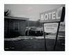 Fruitport, MI (moominsean) Tags: polaroid 190 instant type664 michigan fruit port winter motel slayer