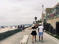(soulfulskills) Tags: people sandiego boardwalk ocean beach california love summer