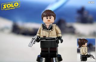 Custom LEGO Solo: Qi'ra