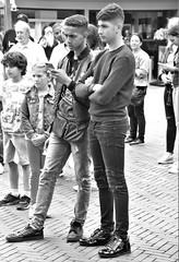 IMG_2708 (Skinny Guy Lover) Tags: outdoor guys men males dudes skinnyjeans blackskinnyjeans pair armsfolded portrait