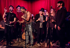 Coffee Shop Arena Rock 04/07/2018 #43 (jus10h) Tags: coffeeshoparenarock curtispeoples hotelcafe losangeles hollywood california live music concert gig event residency show performance showcase coffeeshop arenarock 80s covers 90s songs singers nikon d610 lowlight photography 2018 april justinhiguchi