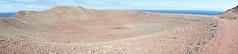Montana Roja Crater (notFlunky) Tags: lanzarote canary islands atlantic spain holiday sun montana roja panorama crater volcano mountain red caldera