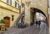 In Bozen, Italien (Janos Kertesz) Tags: urban bolzano bozen italy italia italien südtirol house architecture building medieval tourism city old street town exterior outdoor ancient