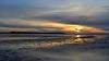 Sunset Reflections (Tilney Gardner) Tags: sunset sandbanks poole dorset reflection clouds harbour