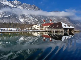 St. Bartholomew - Lake Koenigssee, Bavaria