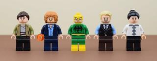 Marvel minifigs #2 : Iron Fist (Netflix)