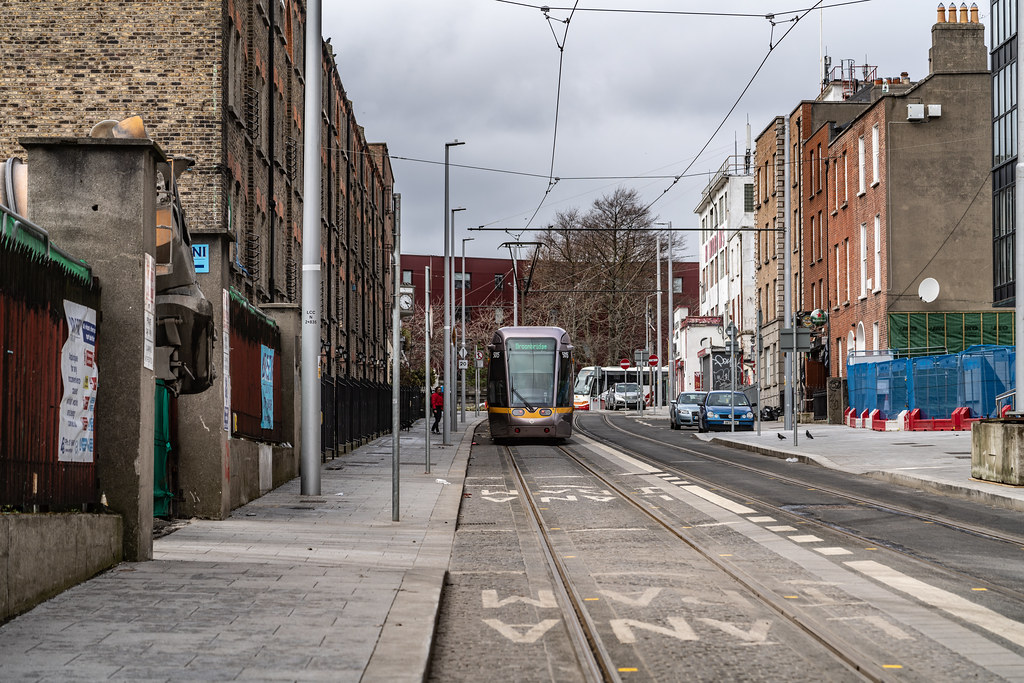 DOMINICK STREET DUBLIN [TRAMS AND TRACKS]-137843