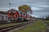 "75 008 with passenger train  16103 ""Rodopi""Septemvri - Dobrinishe - 17.12.2017 г. (DMKarev) Tags: bdz бдж 75008"