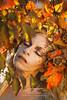 "TEATRONATURA ""Autumn's Spirit"" (valeriafoglia) Tags: autumn beautiful colors dark dream dress ethereal fairy fantasy fall ghost leaves lady maiden red nature purity spirit soul surreal woman warm woods"