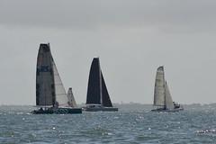 LOX_3886 (Lox Pix) Tags: australia queensland brisbanetogladstone yachtrace catamaran trimaran 2018 bossracing multihull loxpix moretonbay shorncliffe cabbagetreecreek rudder aground sailing loxworx