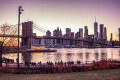 Brooklyn Bridge Sunset (Leong Seng Chee) Tags: brooklyn bridge sunset bridgephotography landscapephotography
