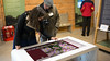 Sleek 55 Inch Multi Touch Table in use at Spetchley Park and Gardens