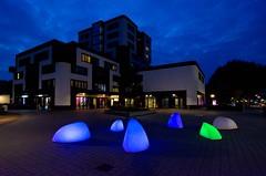 _DSC0963 (durr-architect) Tags: almere modern housing lake water statue art light