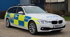 NX18 CCY (Ben - NorthEast Photographer) Tags: cleveland police durham constabulary cdsou specialist operations unit brand new 2018 bmw 330d traffic car motor patrols interceptors interceptor stinger anpr apr camera automatic number plate recognition base south motorway ccy nx18 nx18ccy