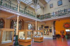 Industrial Gallery, BMAG (alanhitchcock49) Tags: bmag birmingham museum and art gallery 22 march 2018 rdditch u3a digital photogrphy group industrial wrought cast iron hdr stained glass