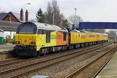 FERRIBY 240318 67023 (SIMON A W BEESTON) Tags: ferriby network rail colas stella charlotte 67023
