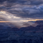 Sunset at Navajo Point, South Rim Grand Canyon, Arizona thumbnail