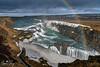 Gullfoss (geraintparry) Tags: iceland waterfall waterfalls hvita river cascades rainbow canyon nature gullfoss landscape