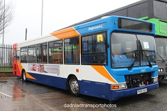 Stagecoach 34803 (anthonymurphy5) Tags: stagecoachmerseyside 34803 px55egy alexanderdennisdartslfpointer gillmossbusgarage 020418 cannoneos1300d outside buspictures busgarage busspotting