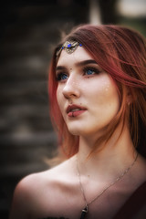 Medieval Fantasy (Karlchen_1) Tags: medieval fantasy costume alternative alternativegirl makeup creative jewelry sunligt hobby larp cosplay renaissancefaire nikon nikond850 d850 nikkor nikkor70200 availablelight beautiful princess shooting eyes young girl