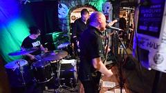 DSC_0164 (richardclarkephotos) Tags: tim bish joey luca © richard clarke photos derellas three horseshoes bradford avon wiltshire uk lone sharks guitar bass drums guitarist drummer bassist band bands live music punk