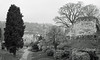 Guildford Castle March 2018 (Song-to-the-Siren) Tags: blackandwhite olympus35sp tmax100 bw classiccamera filmcamera film analogue guildford towncentre castle