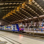 Gare Lille Flanders at night thumbnail