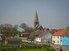 Mappleton Church from viewpoint (Alan Rowley Photos) Tags: places holderness mappleton england unitedkingdom gb