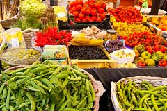 Morning Market #7 (J.R. Rondeau) Tags: rondeau italy rome market campodefiori fruits vegetables flowers spices sjet sjet2018