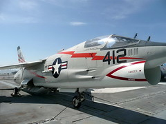 "Vought F-8A Crusader 2 • <a style=""font-size:0.8em;"" href=""http://www.flickr.com/photos/81723459@N04/40645060084/"" target=""_blank"">View on Flickr</a>"