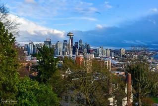 Downtown Seattle, Washington - Queen Anne Hill