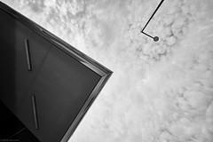 Mannheim Jungbusch 41 b&w (rainerneumann831) Tags: mannheim popakademie strasenlaterne bw architektur ©rainerneumann monochrome gebäude