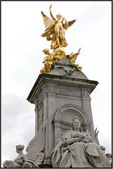 Statua Bukingam Palace (www.stefanonocetti.com) Tags: oro buckingam palace square piazza inghilterra england gran gretagna londra london