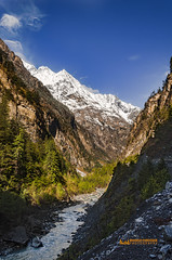 Marsyangdi River (Mahmud Farooque) Tags: annapurna annapurnacircuittrek annapurnacirucit marsyangdi nepal mountain river canyon