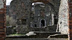 En enfilade (BrigitteChanson) Tags: villerslaville abbaye ruines brabant wallonie