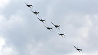 Spitfires Formation